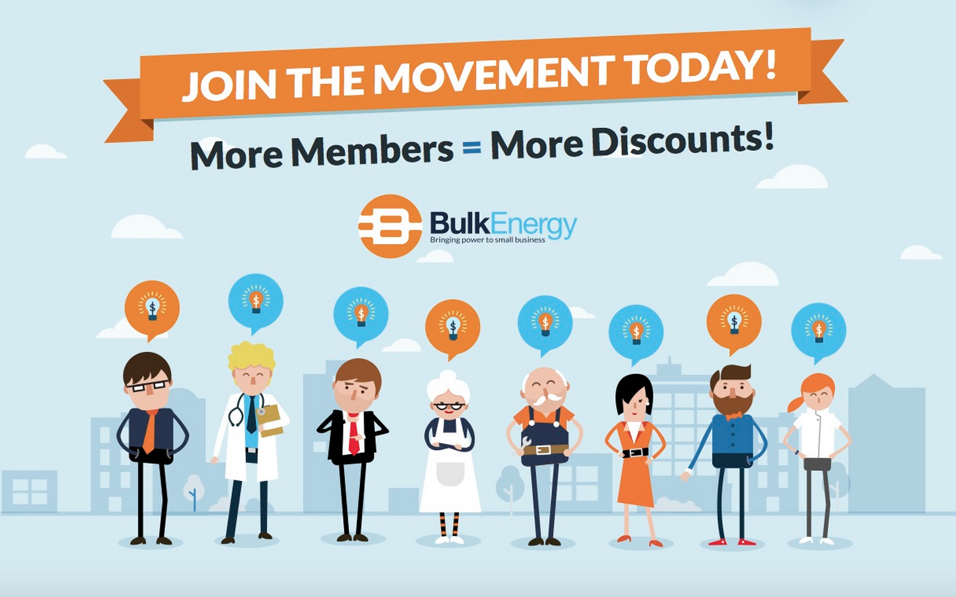 Have you met Bulk Energy yet? Join the movement today!