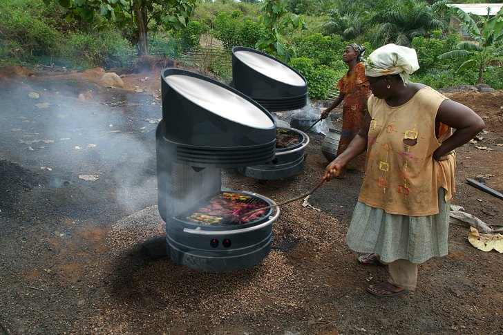 Could this solar powered BBQ change the world?